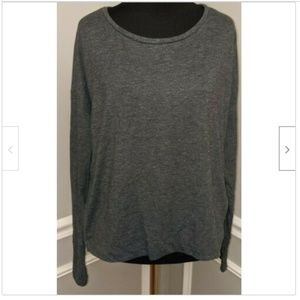 Old Navy Gray Dolman Sleeve Loose Fit Blouse
